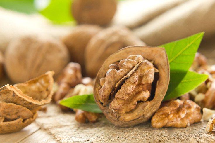 Las nueces son unos de los alimentos buenos para la memoria