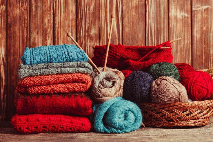 Tejer y coser son actividades muy placenteras qeu te ayudan a relajarte