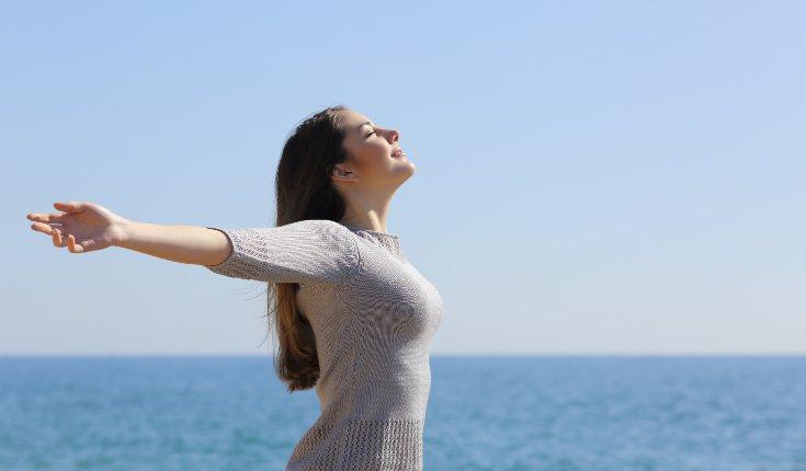Cuando estés en una zona alta, intenta relajarte y pensar en otra cosa