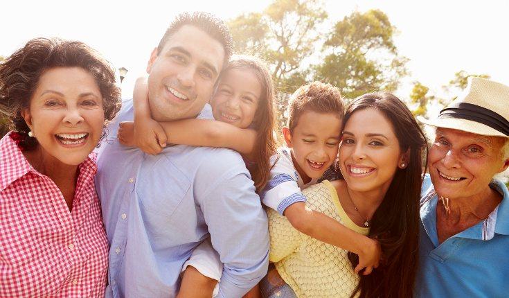 Rodéate de una buena red de apoyo a base de familia y amigos