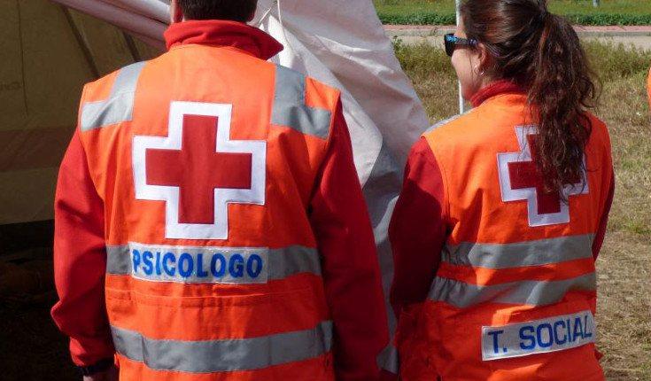 Los primeros auxilios psicológicos son ofrecidos en emergencias (Foto: Cruz Roja Esoañola)