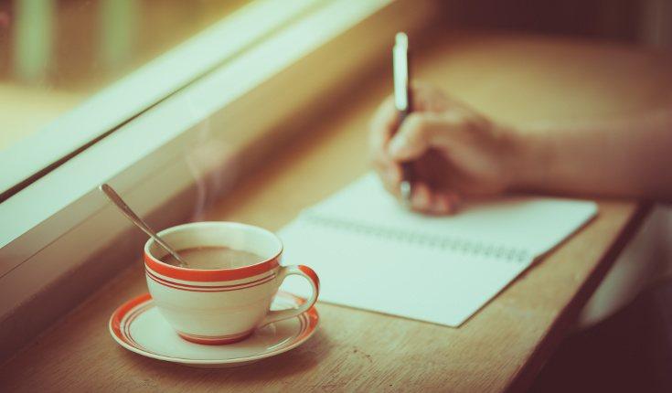 Dedica unos minutos cada día a escribir el diario