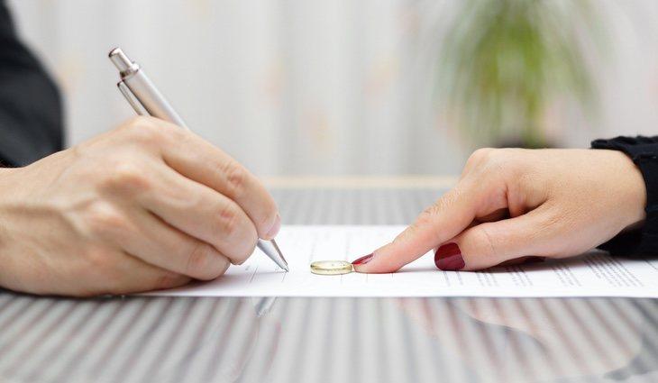 El 50% de los divorcios se da entre los primeros diez años de matrimonio