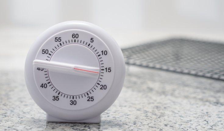 Un temporizador te ayudará a que tus tareas sean más estimulantes