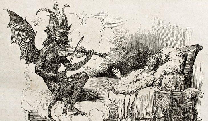 Se creía que un demonio quería llevarse tu alma