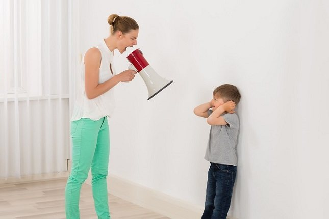 Una persona que grita puedes sentir desesperación al no tener control sobre la situación