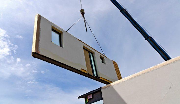 Las casas prefabricadas son de construcción muy rápida