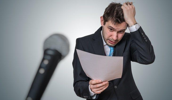 Muchas son las personas que tienen pánico a hablar en público